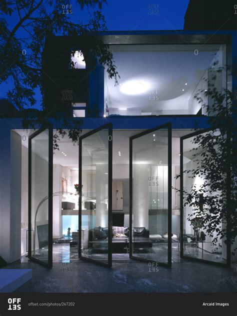 glass wall house modern house glass walls modern house