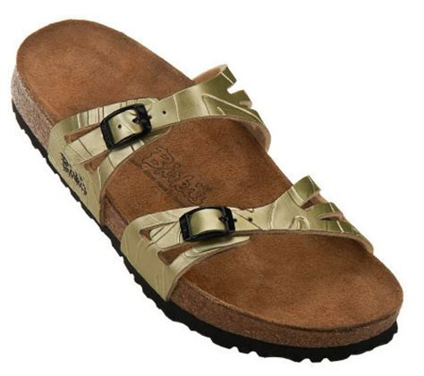 qvc sandals clearance birki s by birkenstock moorea soft footbed sandals qvc
