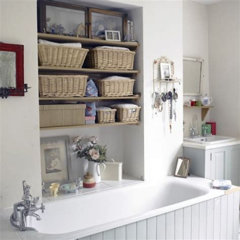 bathroom shelves ideas 35 great storage and organization ideas for small