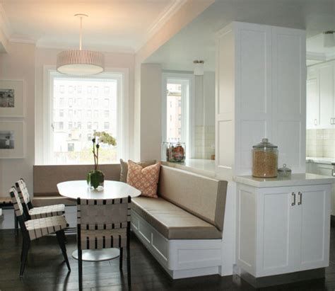 built in kitchen banquette built in dining banquette contemporary dining room curated
