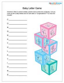 Baby Shower Booklet Template by Free Printable Baby Shower The Guests Will