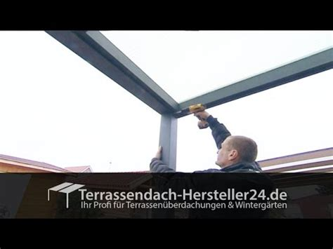 osto holz terrassen 252 berdachung montagevideo aufbauanleitung