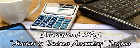 New Mba 2017 by Accounting Degree For Mba Masters In Business