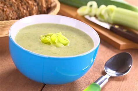 leek soup lauchsuppe usa kulinarisch