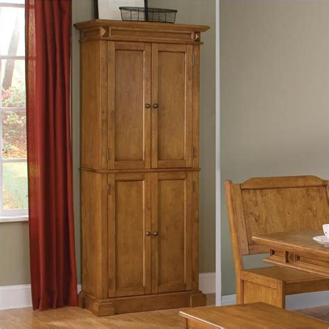 Oak Kitchen Pantry Cabinet Home Furniture Design Kitchen Pantry Storage Cabinet