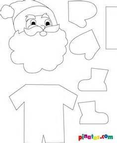 Santa Claus Craft Template by 1000 Images About Print On Maze