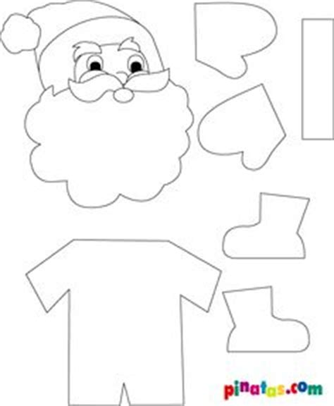 santa claus craft template 1000 images about santa clause on