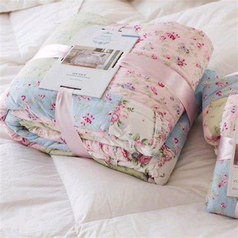 simply shabby chic ditsy patchwork quilt shabby chic