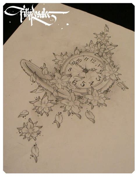 clock tattoo designs tumblr 1000 ideas about clock tattoos on pocket