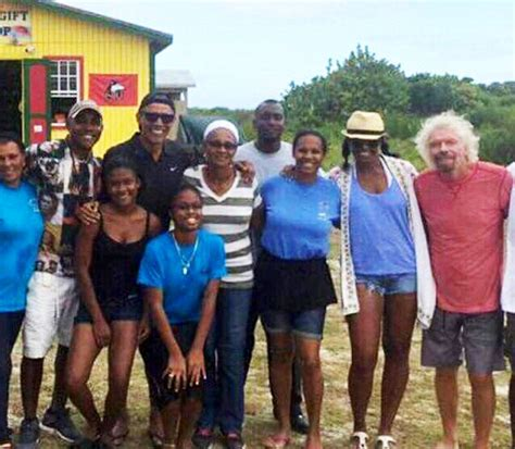 michelle obama necker island new photos show the obamas relaxing and enjoying their