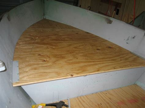 aluminum boat floor replacement installing wood floor in aluminum boat http