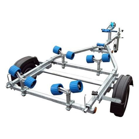 spring loaded boat trailer rollers extreme ext350 roller galvanised boat trailer