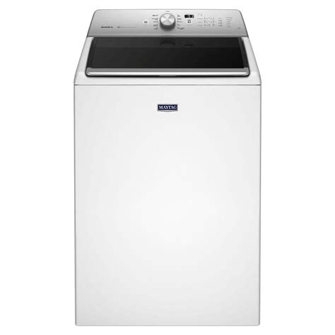 maytag 5 3 cu ft high efficiency top load washer in