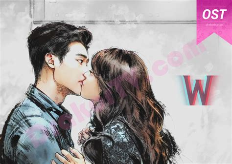 Drawing W Two Worlds by Ost W Two Worlds 더블유 2016 Drama Korea Terbaru