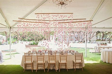 Origami Wedding Decor - origami paper wedding decorations
