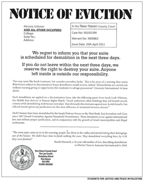 printable eviction notice texas eviction notice texas real estate forms
