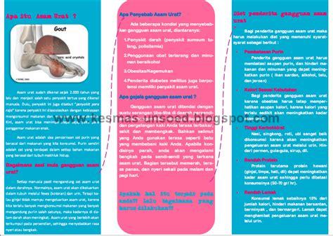 membuat brosur tentang penyakit asma segalanya tentang penyakit asam urat leaflet asam urat
