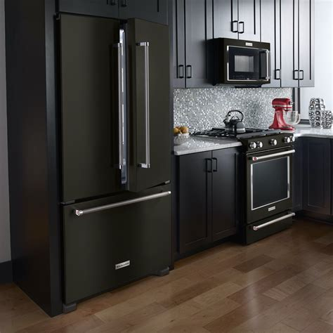 Black Kitchen Cabinets With Stainless Steel Appliances Press Room Get The Scoop And Dish It Out