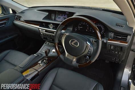 lexus es interior 2014 lexus es 350 sports luxury review video