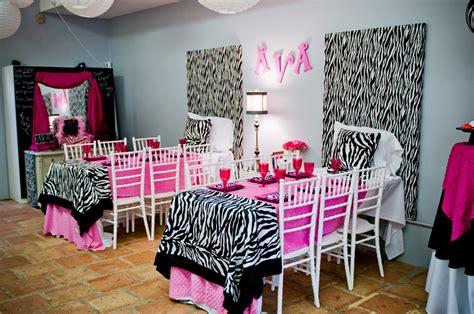 zebra themed birthday party little girl zebra birthday party ideas image inspiration