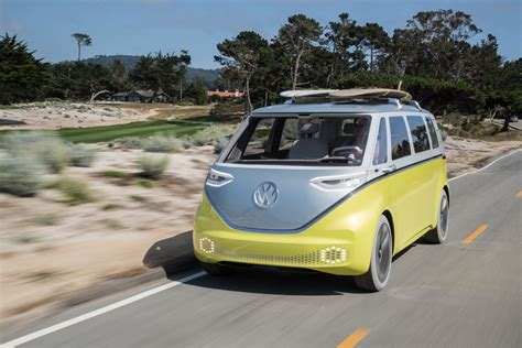 volkswagen minibus electric iconic vw cervan to make electric comeback as id buzz