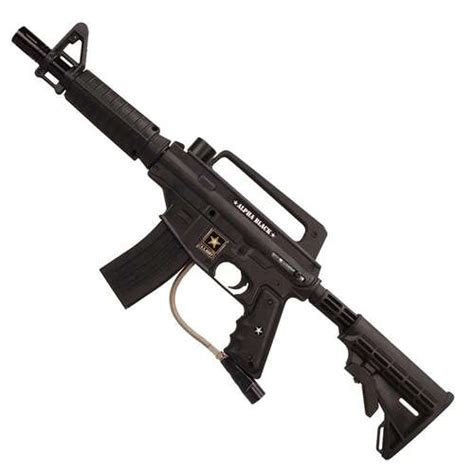 alfa black us army alpha black paintball guns
