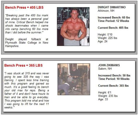powerlifting bench press program 7 proven tips on how to increase your bench press