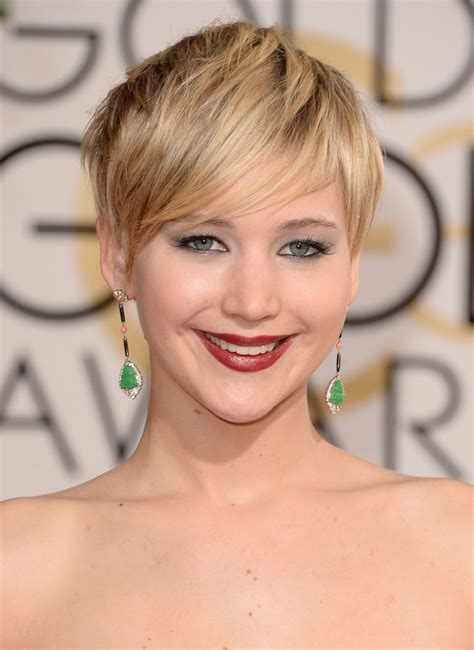 hairstyles golden globes jennifer lawrence 2014 golden globe awards red carpet