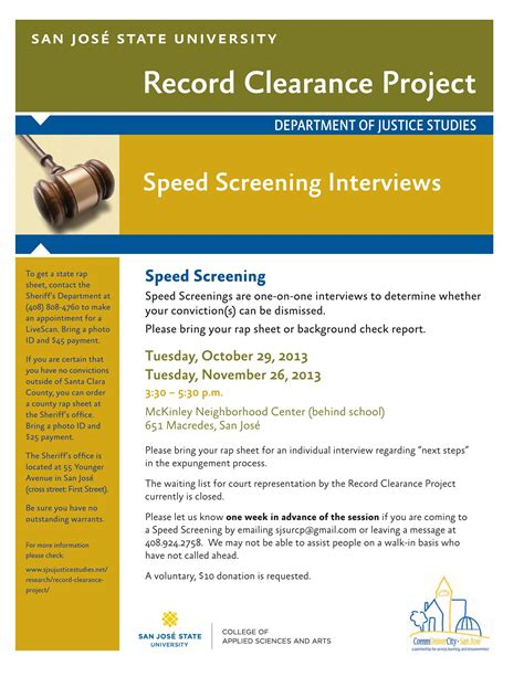 speed screenings and record clearance changing lives one petition at a time communivercity san jos 233