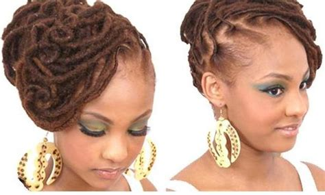 Wedding Hairstyles For Locs by American Wedding Hairstyles Hairdos Locs