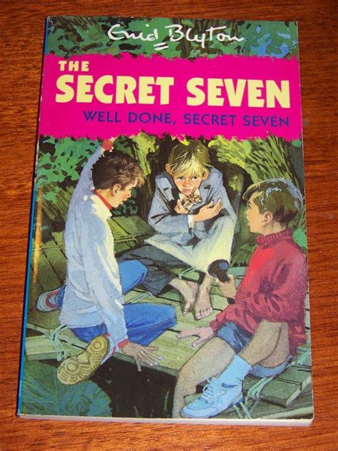 secret seven on the quot well done secret seven the secret seven quot enid blyton pb 9780340569825 ebay
