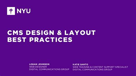 web layout best practices cms design layout best practices
