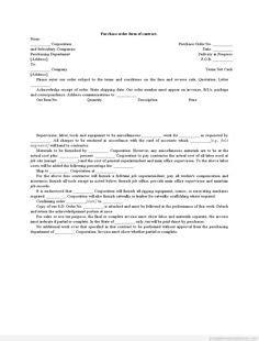 Purchase Order Amendment Letter Format sle printable contractor lien waiver form printable