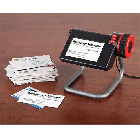Digital Business Card the digital business card organizer hammacher schlemmer