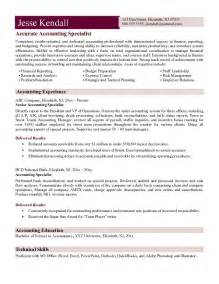 Resume Exles Accounting by Accountant L Picture Accountant Cv Exle
