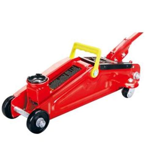 big red 2 ton floor jack in box t820013 the home depot