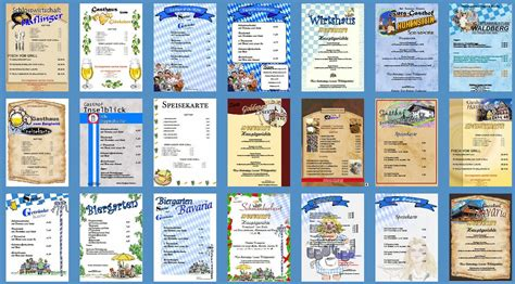 Word Vorlage Cocktailkarte Speisekarten Vorlagen Jede Vorlage Kostenlos Zum