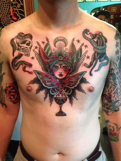 best traditional tattoos the 100 best chest tattoos for improb
