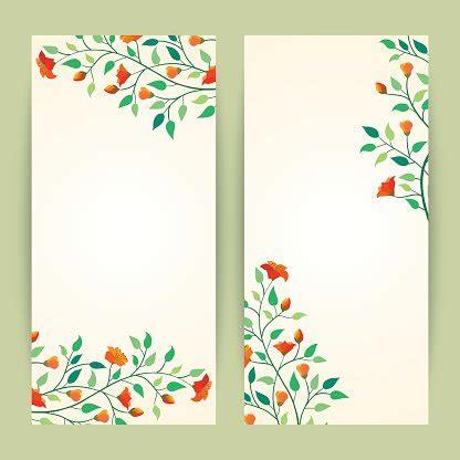 Beautiful Vector Illustration Flower Banner Background Template Premium Clipart Clipartlogo Com Flower Banner Template