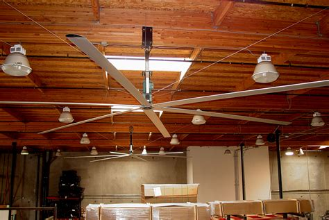 hvls ceiling fans great airflow efficiency   home