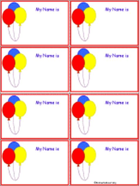 penguin nametags to print in color enchantedlearning com balloon nametags to print in color enchantedlearning com