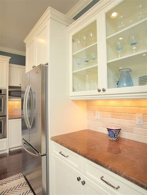 refrigerator cabinet houzz