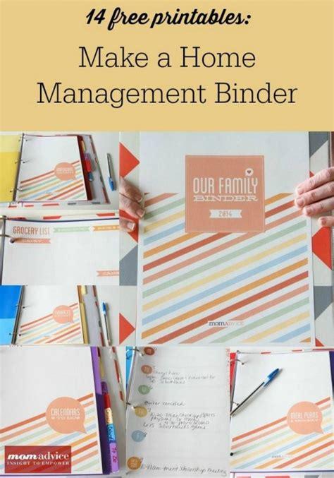 14 free home management binder printables money saving 174