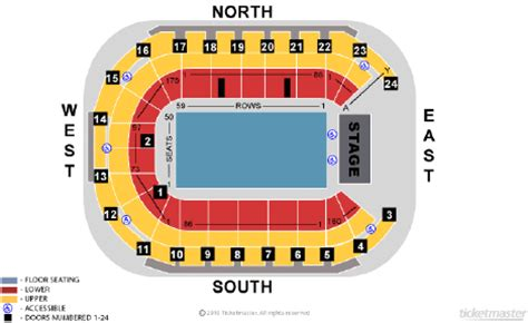 Odyssey Floor Plan by Seating Plans