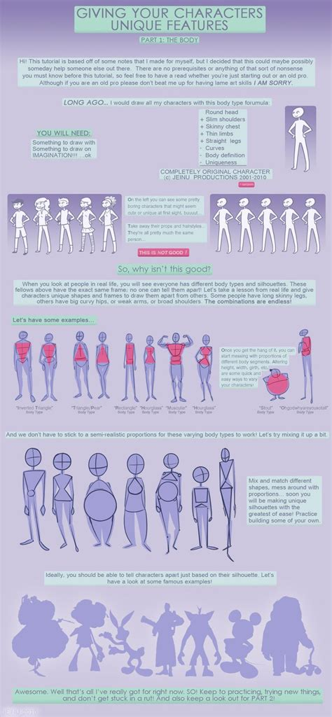 tutorial design character 96 best character design body types images on pinterest