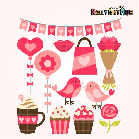 things for valentines valentines day things clip set daily hub