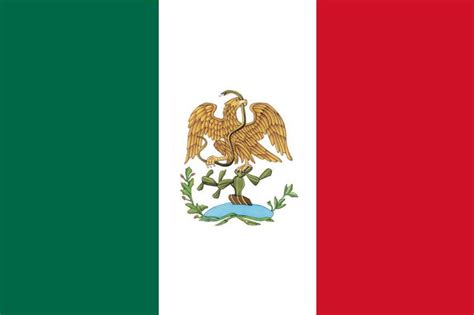 imagenes de las banderas historicas de mexico historia de los simbolos patrios de mexico taringa
