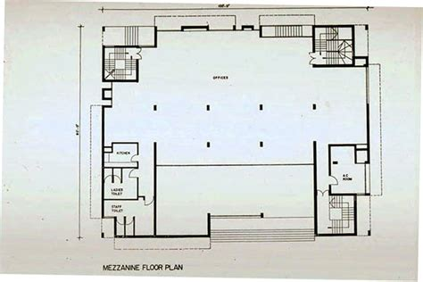 mezzanine floor plans grindlays bank b w drawing mezzanine floor plan archnet