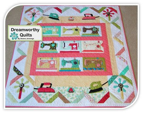 sewing pattern quilt sewing room machine pattern sold separat by dreamworthy