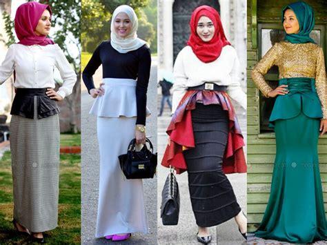 Rok Span Rok Skirt Span 5 rok span untuk perempuan berhijab pinkkorset pinkkorset